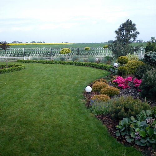 Ogród Łowicz - Ogród w stylu angielskim - Ekoland Ogrody