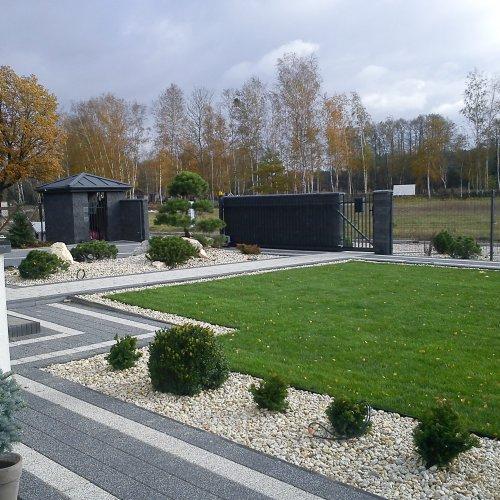 Ogród Nowoczesny Stare Budy - Ekoland-Ogrody