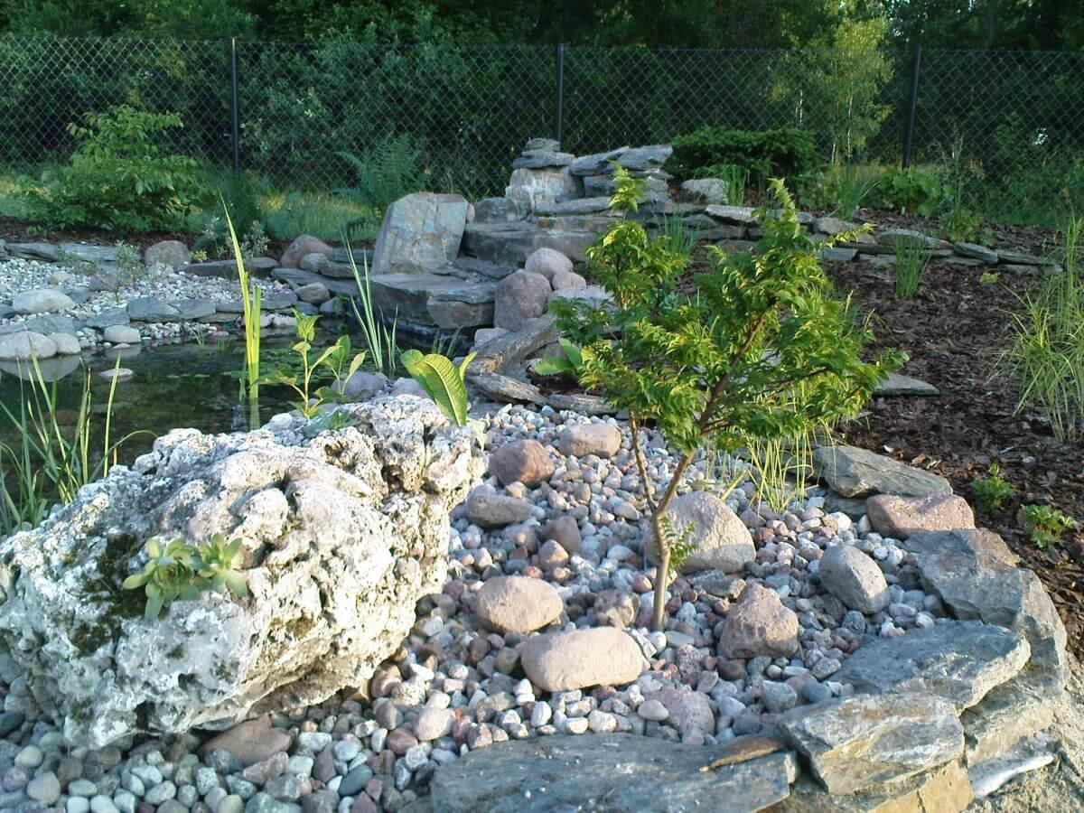 Ekoland Ogrody Skierniewice - skalniak w ogrodzie